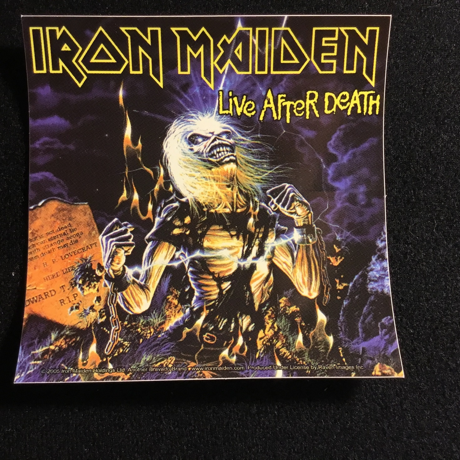 55640bfb Iron Maiden(Sticker) - The Metal Music Stop