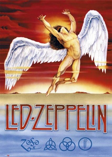 2d0b9d47 LED ZEPPELIN( POSTER) - The Metal Music Stop