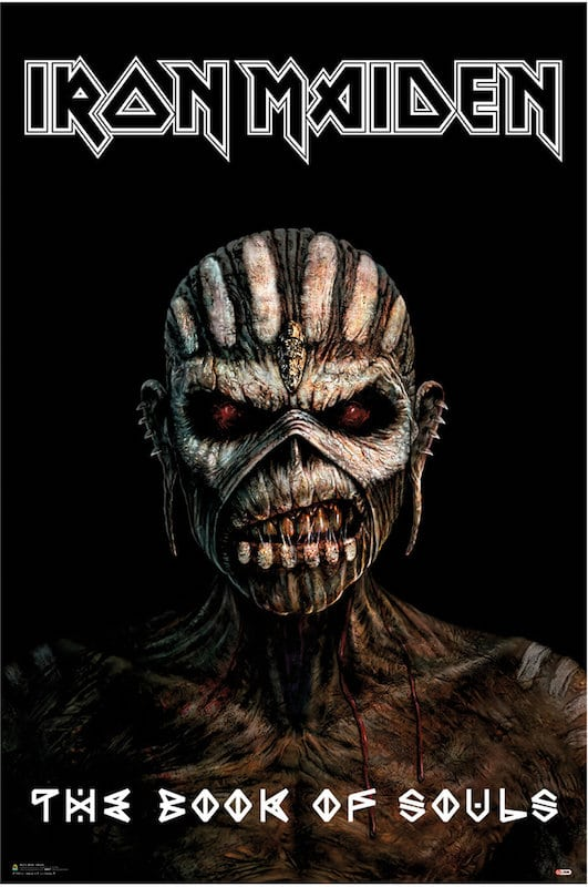 3fc9b645 IRON MAIDEN( POSTER) - The Metal Music Stop