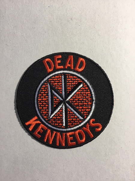 Dead Kennedys Patch The Metal Music Stop