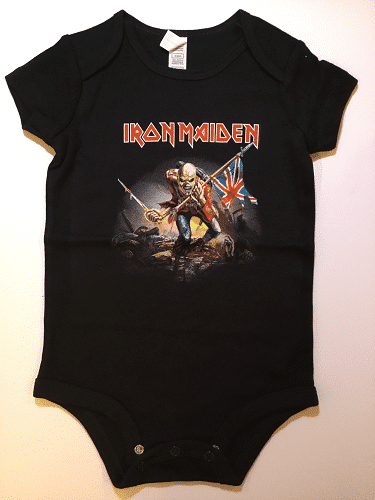 a1e67d2f IRON MAIDEN(Baby Onesies) - The Metal Music Stop