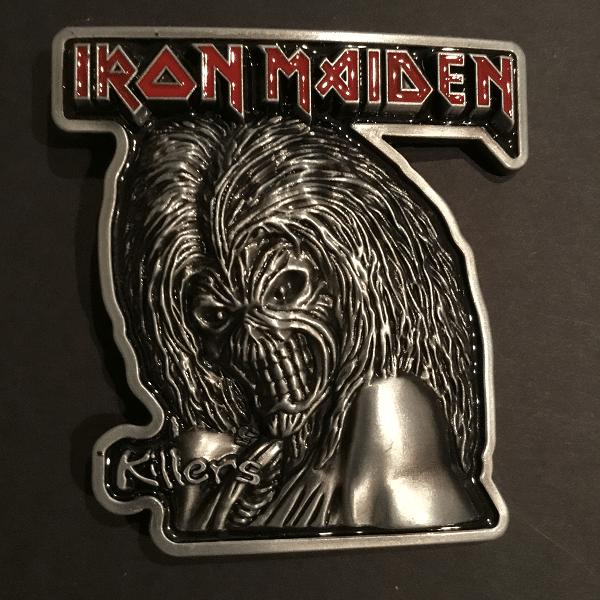 1821f627 Iron MaidenBelt Buckle - The Metal Music Stop
